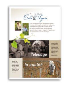 Plaquette Vigneron Bourgogne