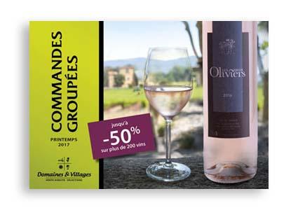 Catalogue de vins – domaines & Villages